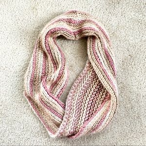 Lovely Crocheted infinity scarf